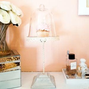 Cupcake Pedestal Stand + Dome